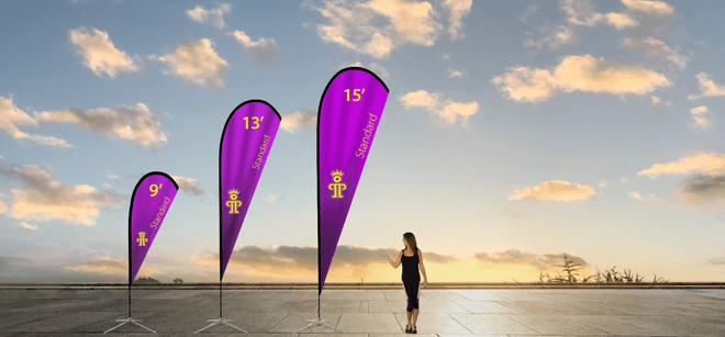 Standard teardrop Flags   paramountpromotions.com