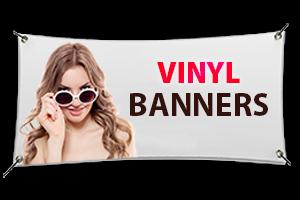 Vinyl Banners | Vinyl Printed Banners | Banner Printing