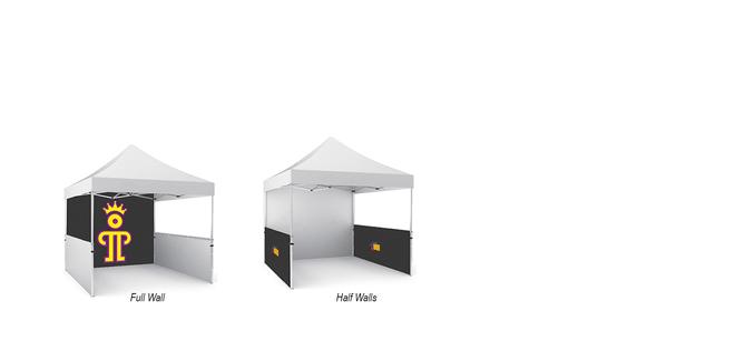 Canopy Tent Walls   Tent Backwalls & Sidewalls