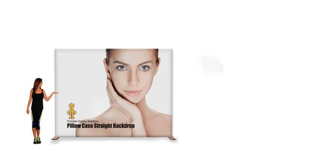Pillowcase Fabric Backdrop - 10ft Straight